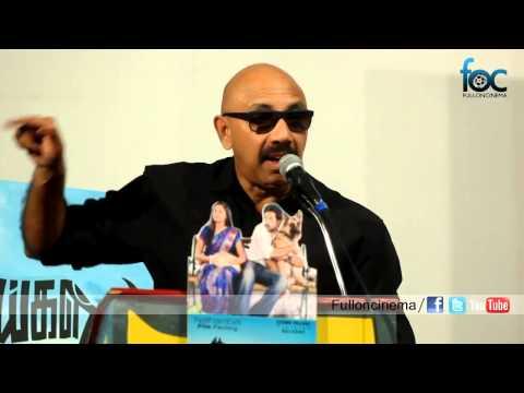 Actor Sathyaraj at Naaigal Jaakirathai Press Meet