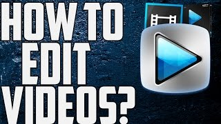 How To Use Sony Vegas Pro 13 For Beginners! (Best Settings)