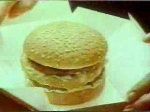 Very old Big Mac 70 s commercial