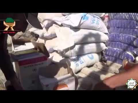Lebensmittelpakete an Hilfsbedürftige in der Provinz Latakia - Juli 2014