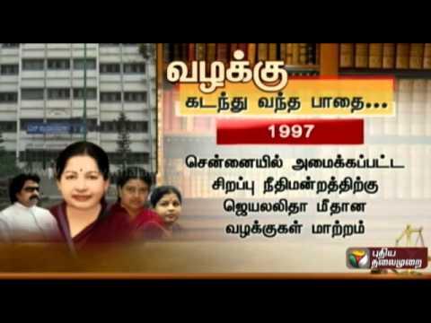Details and background of Jayalalitha's disproportionate assets case