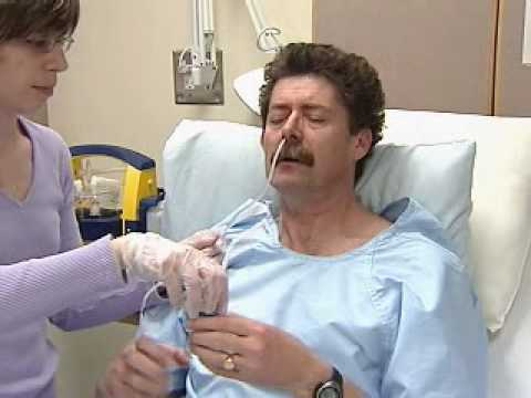 nasogastric tube insertion youtube
