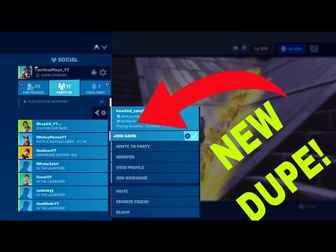 *NEW METHOD* Duplication Glitch! Fortnite Save The World Duplication Glitch