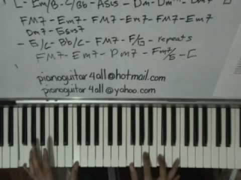 Truly Lionel Richie Piano Tutorial video