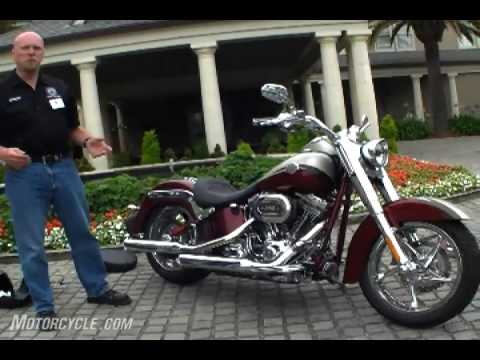New 2010 Harley-Davidson CVO Softail Convertible Motorcycle - Preview Video