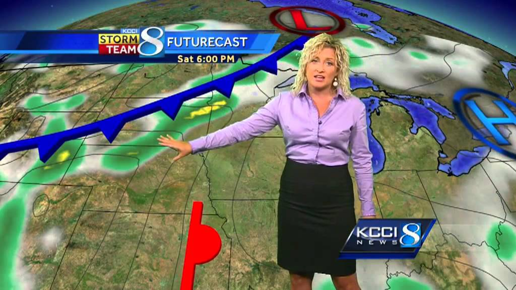 KCCI noon weather forecast - YouTube