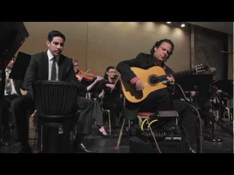 Concerto No 2 for Flamenco Guitar by Adam del Monte, 1st Movement