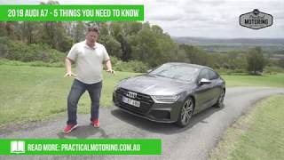 The 5 things you need to know about the 2019 Audi A7