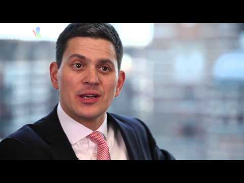 David Miliband on Hillary Clinton and Middle East conflict
