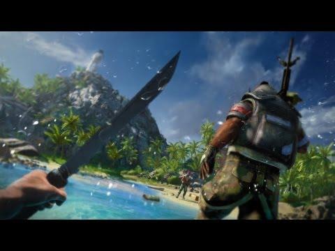 Far Cry 3 GamePlay Medium Settings 2013 On AMD A8-5500 (3.3Ghz) Turbo Clocked