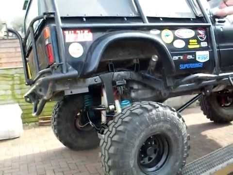 Mtm Toyota Hilux With 3 Link Rear Suspension Ramp Test