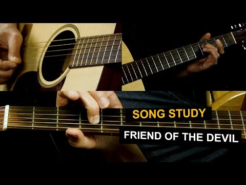 Friend Of The Devil Guitar Lesson - For Beginners