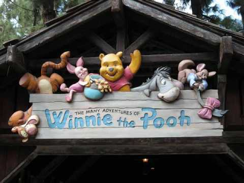 The Many Adventures of Winnie the Pooh area music- The rain rain rain came down down down