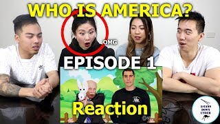 Asians watch WHO IS AMERICA Episode 1 | Reaction
