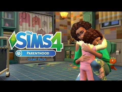 The Sims 4 Parenthood: Parenting Official Gameplay Trailer REACTION