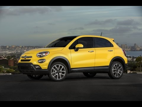 New 2016 Fiat 500X Live Photos And Video From 2014 LA Auto Show