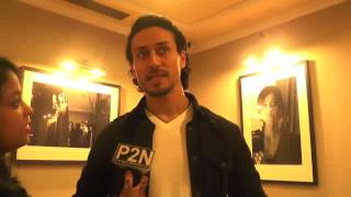 Tiger Shroff and Wrestler turned actor Nathan Jones interview with P2N