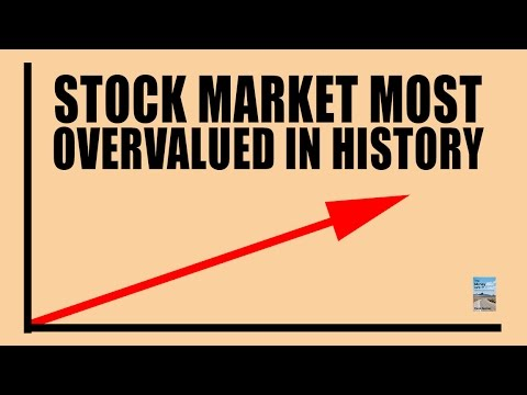 Stock Market Most Overvalued in HISTORY! Why it Will CRASH!