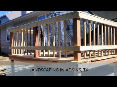Landscaping Adkins TX, South Texas Landscape