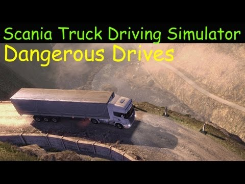 Scania Truck Driver Simulator - Dangerous Drives & Review HD