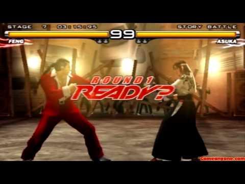 Tekken 5 - Story Battle - Feng Playthrough video