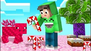 MINECRAFT But THE WORLD = CANDY! (Yummy)