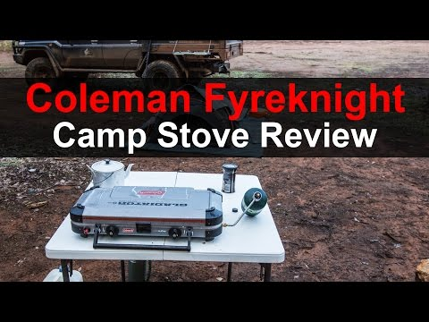 Coleman Fyreknight Cooker Review, camp stove