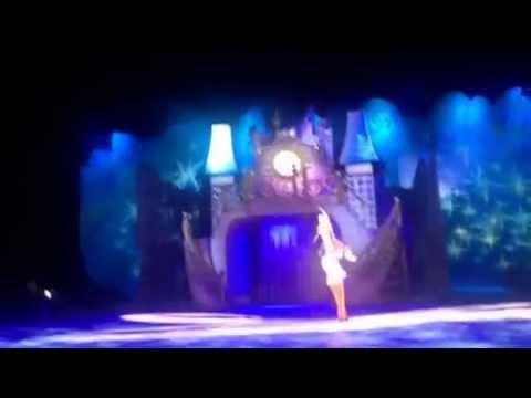 Golden Cinderella Cinderella Tries on The Golden