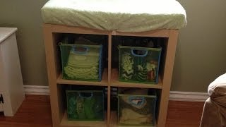 Cloth Diaper Stash and Storage 2014