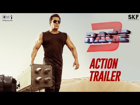 Race 3 Action Trailer | Salman Khan | Remo D'Souza | Bollywood Movie 2018 | 15th June 2018 thumbnail