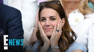 Kate Middleton's Many Facial Expressions Win Wimbledon | E! News