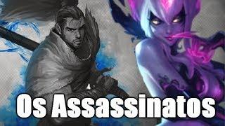 Os Assassinatos Misteriosos das Lores League of legends