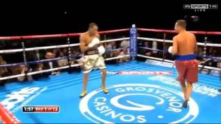 Chris Eubank Jr vs Tony Jeter 24 10 2015