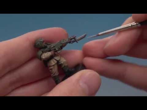 Astra Militarum: Painting Cadian Shock Troops.