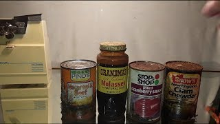 Opening decades-old canned foods 2