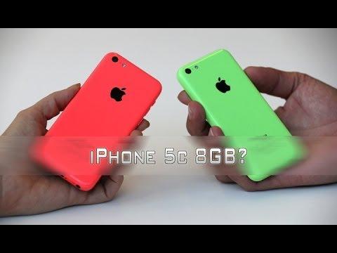 iPhone 5c 8GB? - Теперь хуже.