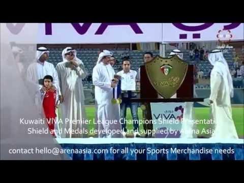 Kuwaiti VIVA Premier League 2014/15 Champions Shield Presentation - Arena Asia