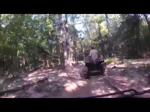 Gator Run 2014 riding through the trails