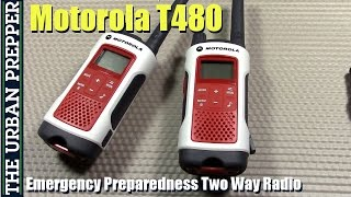 Motorola T480 Emergency Preparedness Talkabout Radio Review