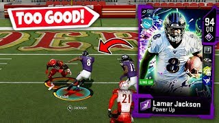 LAMAR JACKSON BREAKING ANKLES AND SCORING TOUCHDOWNS! MADDEN 20 ULTIMATE TEAM