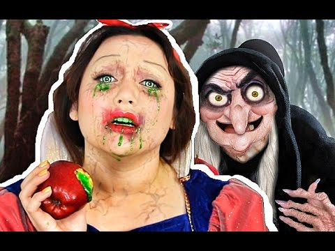 Snow White Poisoned Makeup