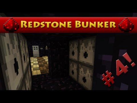 Minecraft Redstone Bunker - Episode 4 - Obsidian Escape! (HD)