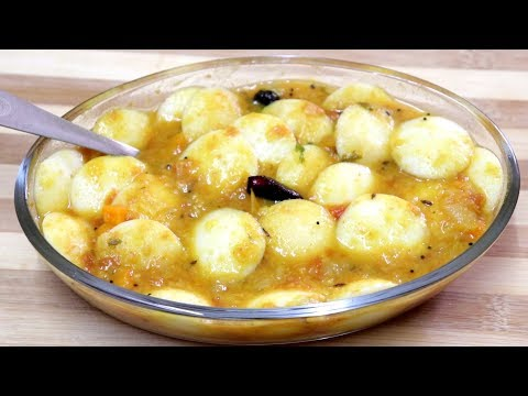 மினி இட்லி சாம்பார் | Mini Idli Sambar | Breakfast Recipes | Sherin's Kitchen