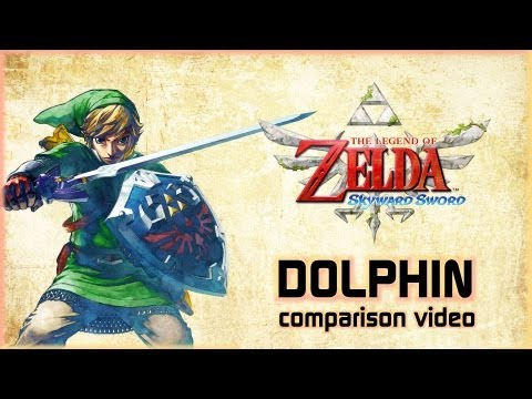 DOLPHIN - The Legend of Zelda: Skyward Sword - SD vs. HD | The Pixel Press