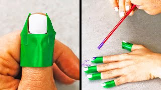 27 NAIL HACKS EVERY GIRL SHOULD TRY