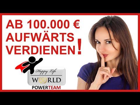 Happy Life World Partner werden und seriös 100.000 € und mehr verdienen