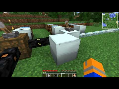 How to: Industrial Craft 2: Geothermal Generator, Solar Panel, Windmill, Watermill, Wiring