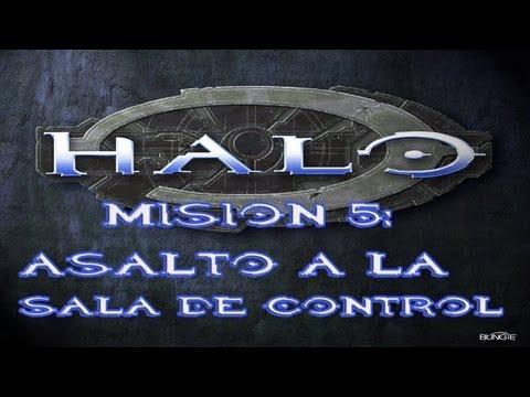 Halo Combat Evolved [ESPAÑOL] Misión 5: 'Asalto a la Sala de Control' parte 1