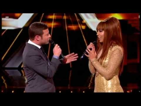 Rebecca Ferguson Singing Backtrack On X Factor Top 12 Results Show video