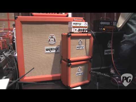 NAMM '12 - Orange Amplifiers OR50, OR15, Micro Terror, and Signature #4 Jim Root Terror Demos